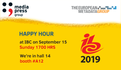 media press happy hour ibc 2019